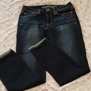 American Eagle Skinny Cropped Jean
